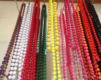 2 Retro Necklaces for 4 Pounds! Choose Your Colours
