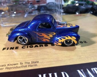 Custom Hot Wheels 41 Willys Rubber Tires