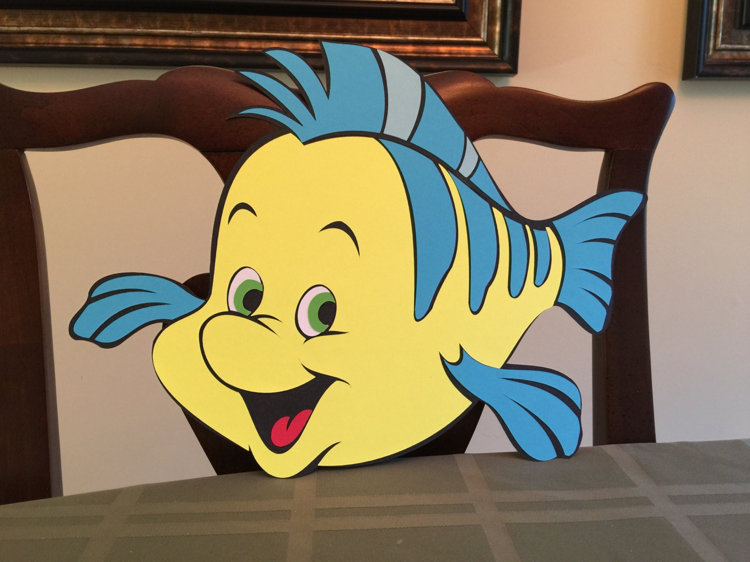 14in Flounder The Little Mermaid Party Decoration Disney