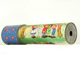 Vintage Raggedy Ann and Andy Kaleidoscope
