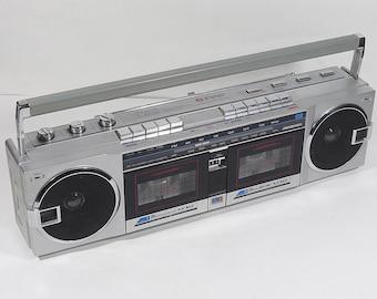 Vintage 80's SOUNDESIGN 4656 ghetto blaster cassette deck radio ghettoblaster boombox