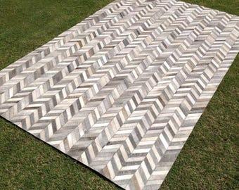 Metric Chevron Patterned Carpet - By Casa Suarez