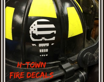 Streetglo Reflective Helmet Flame Decal And