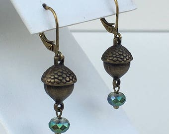 Petite Acorn Earrings