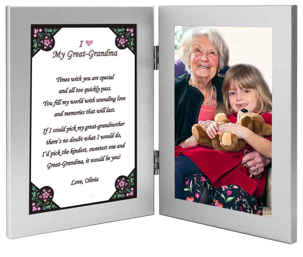 Unique Grandma Picture Frame Collage Adornment - Picture Frame Ideas ...