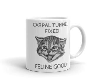 Carpal Tunnel Surgery Gift Get Well Mug