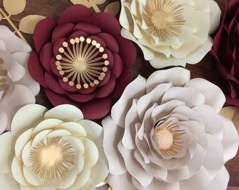 Giant paper flowers- Flores Gigantes de Papel