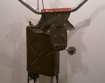 sculpture metal Daisy