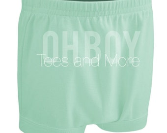 Mint Baby Shorties Diaper Cover