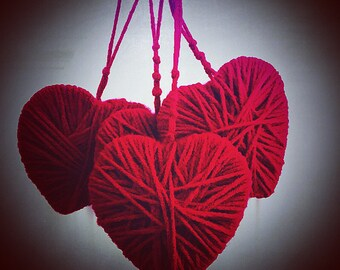 """Hanging Heart - """"Wrapped in your Love"""""""