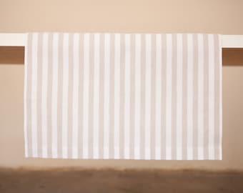 Striped Ecru Runner