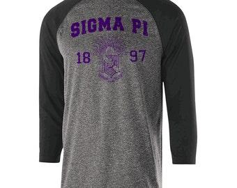Sigma Pi Typhoon Raglan (purple text)