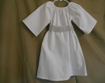 Princess Leia costume 0-3 thru size 12 years & Space Princess Baby Hairdo Hat PDF Pattern