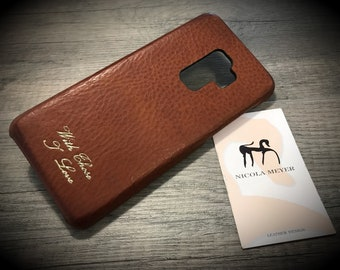 NOKIA 9 Leather Case genuine natural leather use as protection CHOOSE color