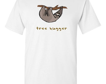 Tree Hugger T Shirt - Tee for environmentalist