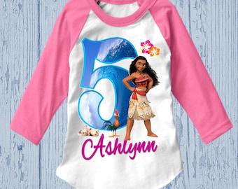Moana Birthday Shirt - Moana Shirt