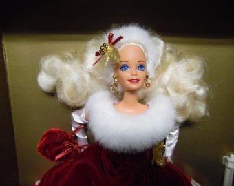 Peppermint Princess Barbie Doll Limited Edition Winter Princess Collection
