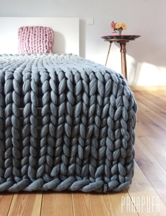 Super king size grosse couverture couverture de laine - Grosse laine pour couverture ...