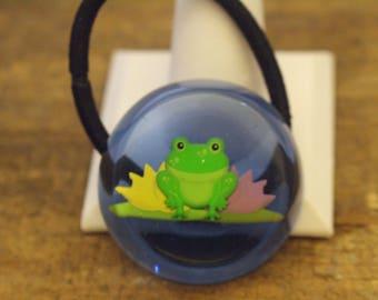 Frog and Lily Pad Pony Band