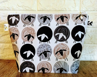 Fluffy Sheep Project Bag - Medium