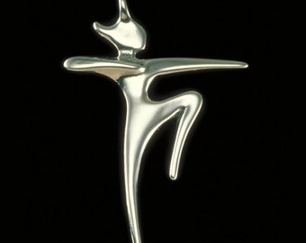 Artemis Pendant, Greek Goddess, Symbolic Jewelry, Women's Spirituality, Huntress, Protector