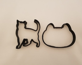 Cookie Cutter | Cat Cookie Cutter | Cookie Cutters | Cat | Kitten | Kitten Cookie Cutter | Animal Cookie Cutter | Cookies | Cutter | Cookie