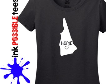 New Hampshire Home Shirt New Hampshire Gift T-Shirt Roots Native