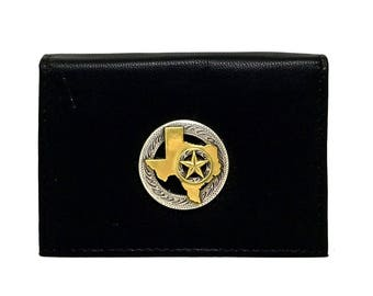 State of Texas Business Card Case – Two-Tone