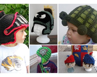 5 For 8 - PDF Crochet Patterns