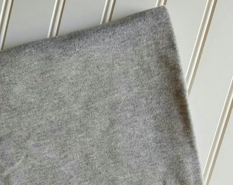 Interlock-Knit-Fabric-By-The-Yard-Gray-Kaufman-Kids-Baby-Dads-Moms-Grandmother-Granddads-Fashion-Apparel -Sewing-DIY-Crafts-Supplies