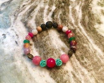 Aromatherapy diffuser bracelet