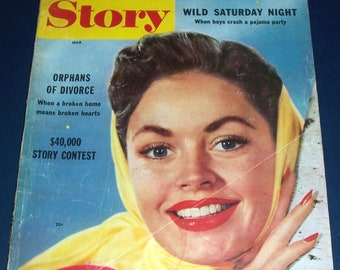 March 1955 True Story magazine