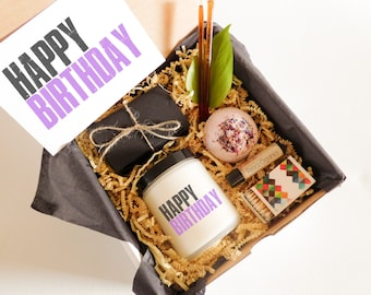 Happy Birthday Gift for Her Birthday Present Quick Ship Gift Fast Birthday Gift for Friend Birthday Gift for BFF Gift Box Birthday Spa Gift