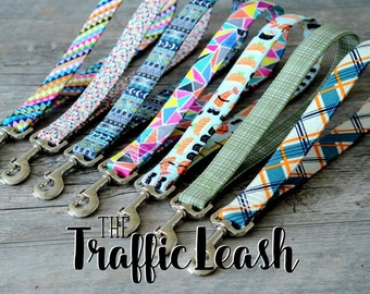The Traffic Leash- designed to keep your dog close in high-traffic situations