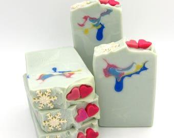 Snow Princess goat milk artisan soap