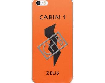 Camp Half-Blood Inspired Percy Jackson Cabin 1 Zeus iPhone Case