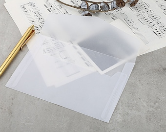 Transparent  Envelopes / white clear envelopes/Clear Envelopes / Glassine Envelopes/gift packing