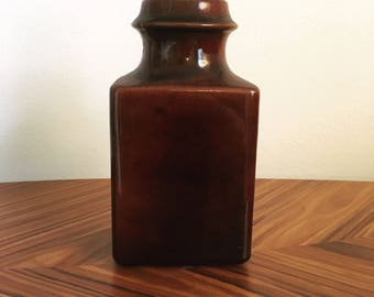 Carstens West German mid century brutalist vase made for Raymor