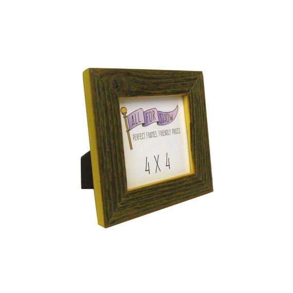 Marco rústico amarillo 4 x 4, 4 x 4 Instagram marco, marco rústico ...