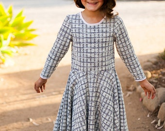 INSTANT DOWNLOAD Estelle Dress (Sizes 12/18 months to 10) PDF Pattern and Tutorial