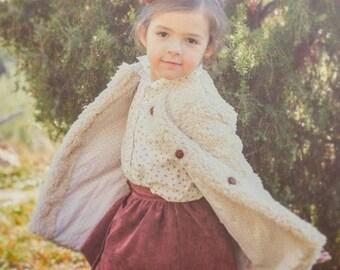 Little jacket for toddler gir, Coat toddler girl , Toddler girl jacket Jacket, Little Girl jacket, Winter Jacket, Colour beige, Toddler coat