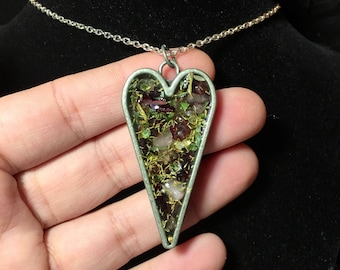 Preserved Love Spell Necklace