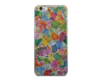 Music Abstract iPhone Case