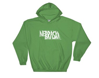 Nebraska, State of Nebraska Hooded Sweatshirt, Hoodie