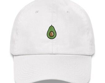 Avocado Dad Hat - Avocado Hat - Avocado - Avocado Baseball Hat - Avocado Cap - Avocado Emoji - Avocado Shirt - Avocado Gift - Avocado Queen