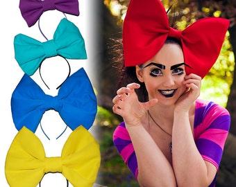 Wonderland Oversized 'Alice Bow' headband