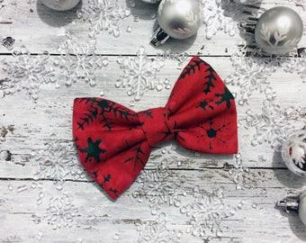 POLAR - Noël Hiver - Bow - Bow Tie - Pet Bowtie - Cat Dog Bowtie - Noeud Papillon pour chien et chat - Boucle pour animaux