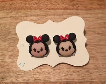 Tsum Tsum Minnie Earrings