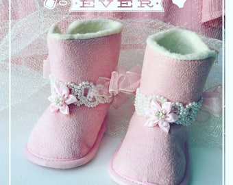 Baby Booties 3-6 Months