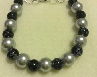 BlueSilver bracelet